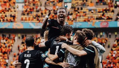 欧洲杯战报:潘德夫破门难救主,奥地利3-1北马其顿迎开门红