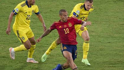 欧洲杯战报:莫拉塔失良机,西班牙0-0战平瑞典