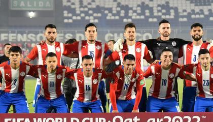 巴拉圭vs玻利维亚首发:阿尔米隆领衔,莫雷罗缺阵