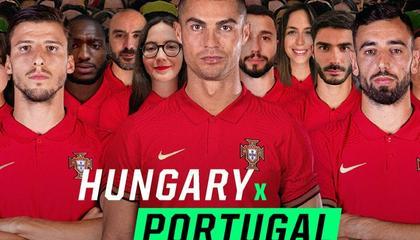 匈牙利VS葡萄牙首发:C罗、B费领衔 若塔首发