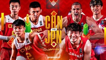 FIBA发布中日之战预热海报 张镇麟徐杰周鹏登上封面