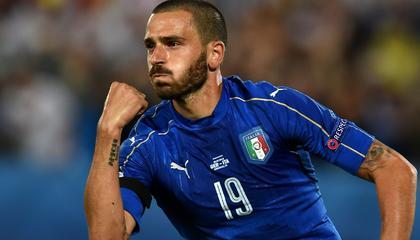 博努奇:意大利不止一个队长,首轮最喜欢英格兰的表现