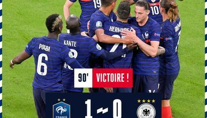 欧洲杯战报:胡梅尔斯自摆乌龙 法国1-0战胜德国