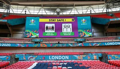 官方:剩下在温布利举行的欧洲杯比赛,允许入座4万人