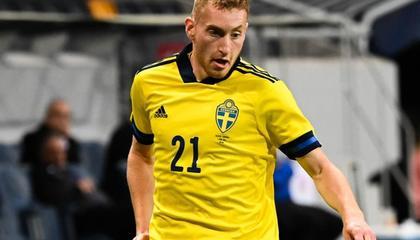 瑞典国脚库卢塞夫斯基新冠恢复,可以出战对阵斯洛伐克