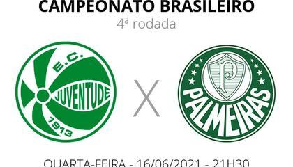 巴西甲前瞻:尤文图德VS帕尔梅拉斯