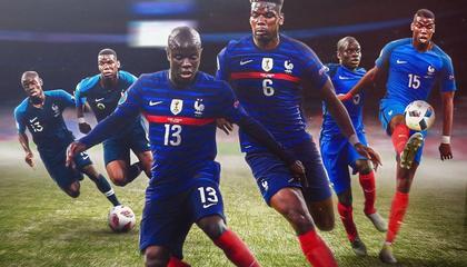 最佳拍档!博格巴+坎特同时首发,法国队已连续28场不败