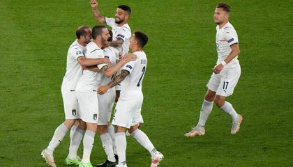 意大利已连续9场零封,对阵瑞士不丢球将创21年纪录
