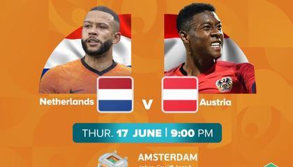 欧洲杯前瞻:荷兰VS奥地利