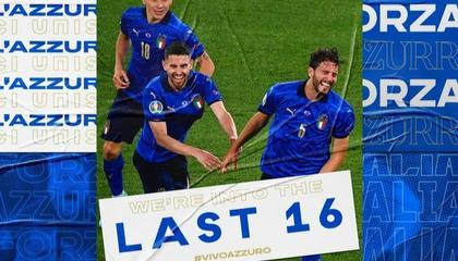 官方:洛卡特利被评为意大利vs瑞士全场最佳球员