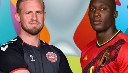 欧洲杯战报:德布劳内传射建功,比利时2-1逆转丹麦