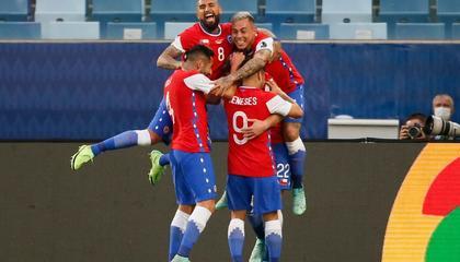 美洲杯战报:布雷尔顿一击制胜,智利1-0玻利维亚