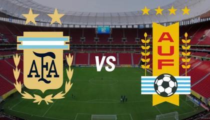 阿根廷VS乌拉圭首发出炉!梅西+劳塔罗PK苏牙+卡瓦尼