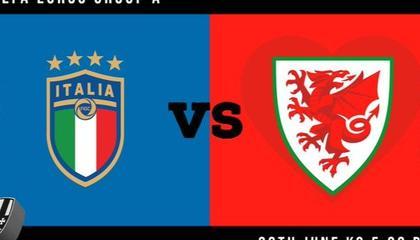 意大利VS威尔士:欧洲杯A组头名争夺战