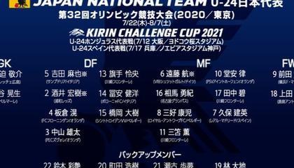 日本奥运会大名单:久保健英、远藤航领衔,吉田麻也入选