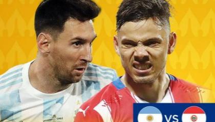 阿根廷vs巴拉圭首发:梅西+阿圭罗领衔,劳塔罗替补