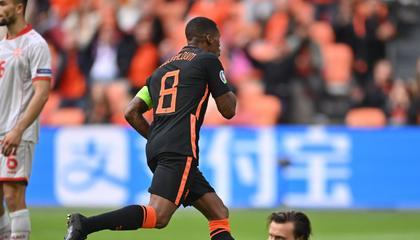 欧洲杯战报:荷兰3-0大胜北马其顿,三战全胜昂首挺进16强