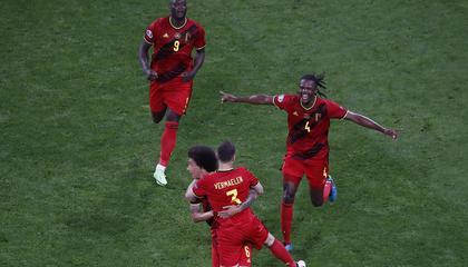 欧洲杯战报:卢卡库破门,比利时2-0芬兰全胜晋级!