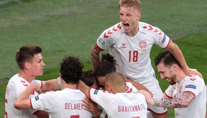 欧洲杯B组即时排名:丹麦升至小组第三,俄罗斯垫底