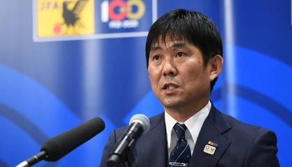森保一:我希望带领日本队夺得奥运金牌