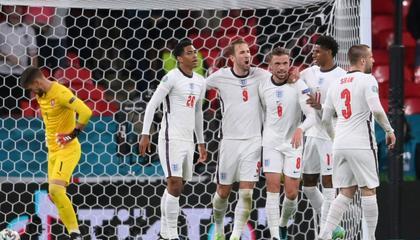 欧洲杯D组积分榜现况:英格兰头名出线,克罗地亚小组第二晋级