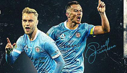 复仇成功!墨尔本城3-1悉尼FC,夺得队史首座总决赛冠军