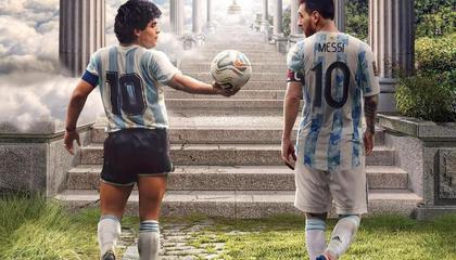球王传承 阿根廷官方致敬马拉多纳