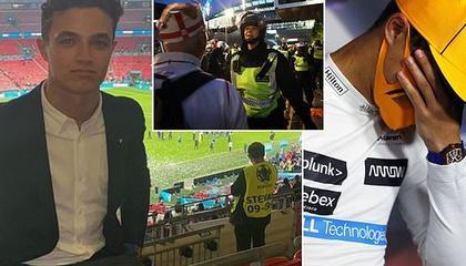 86名英格兰足球流氓闹事被捕,F1车手被卷入事件