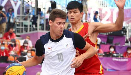 奥运会三人男篮小组赛:中国13-21不敌俄罗斯迎来2连败