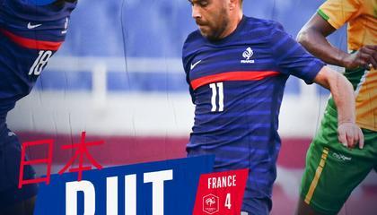 吉尼亚克戴帽,萨瓦尼耶绝杀!法国国奥4-3南非国奥