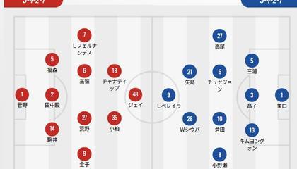 札幌冈萨多VS大阪钢巴首发:钢巴队长三浦弦太复出,札幌主力中卫缺阵