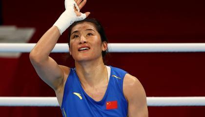 奥运会拳击女子中量级决赛:李倩摘银