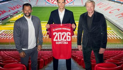 官方:拜仁与格雷茨卡续约至2026年