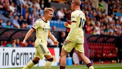 英超半场:阿森纳、利物浦一球领先;曼城0-0圣徒