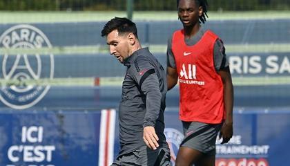 大巴黎官方:梅西重返训练,有望出战蒙彼利埃