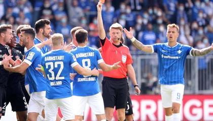 德国足协官方:达姆施塔特中场核心被罚禁赛两场