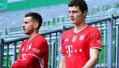 官方:拜仁后卫帕瓦尔因红牌被追加禁赛两场