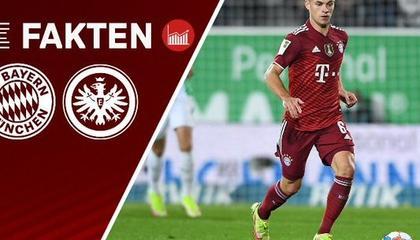 德甲第7轮:法兰克福近12次做客拜仁遭遇全败